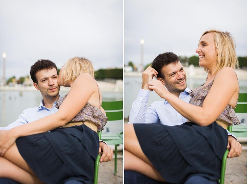 engagement lovesession paris